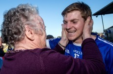 Snapshot - Podge Collins celebrates Clare county final win with his granny