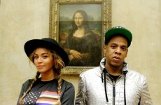 Beyoncé did a Mona Lisa impression in front of the Mona Lisa