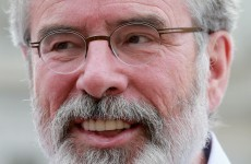 How many houses does Gerry Adams own?