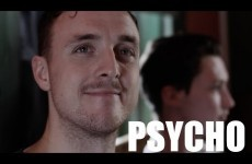 Irish lads perfectly parody American Psycho's business card scene... with pints