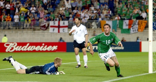 Open thread: What are your memories of THAT Robbie Keane goal in 2002