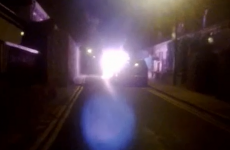 Man arrested over explosion that 'sent fireball up in the air'