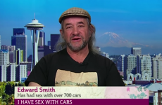 This guy admitted to having sex with 700 cars and a helicopter on yesterday's This Morning