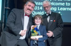 Nine-year-old who's lobbying RTÉ to use sign language in Toy Show wins award