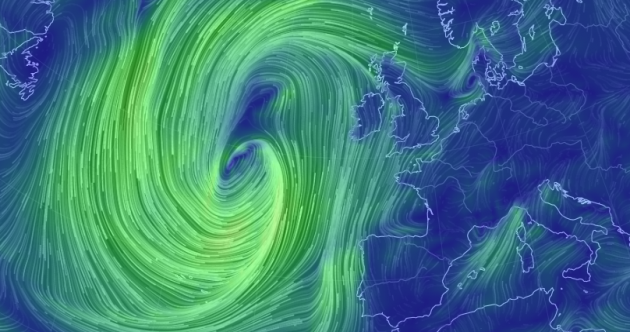 Met Éireann have issued an epic rainfall warning…