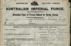 Database of Irish who fought with Australians during WW1 goes online