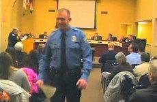 Police officer who shot unarmed black teen says he 'feared for his life'