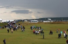 Scottish Open down to 54 holes after heavy overnight rain