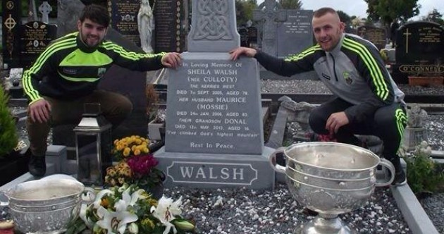 A Kerry senior and minor footballer kept their promise to Donal Walsh
