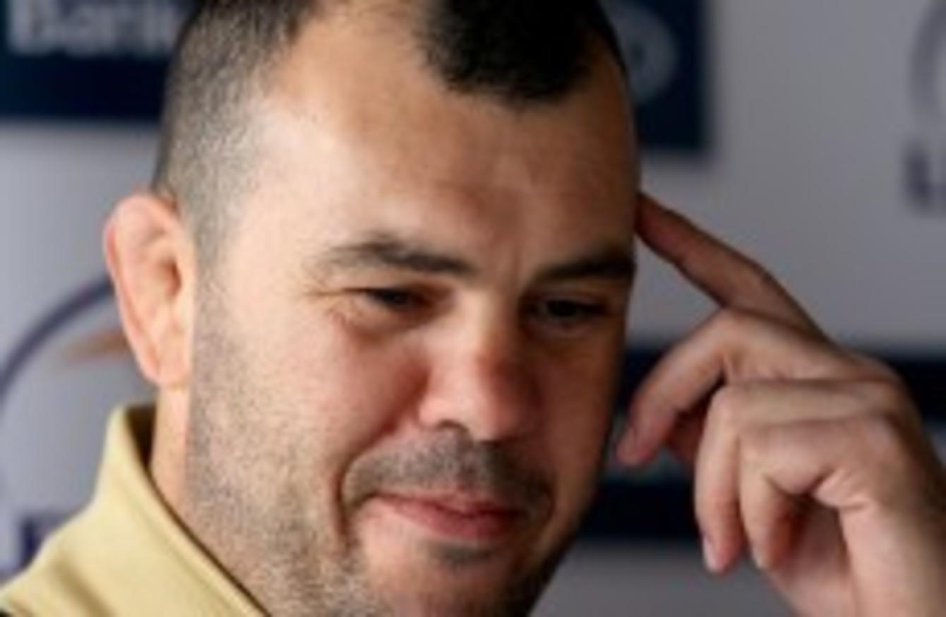 Reformer Michael Cheika The Perfect Man To Grab Wallabies By Scruff