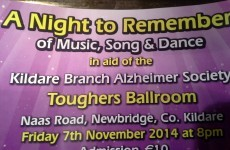 The name of this Irish Alzheimer's fundraiser will make you do a double take