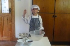 Five-year-old chef lands a job at TV3