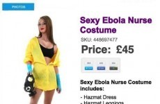That 'sexy Ebola nurse' Hallowe'en costume is a fake