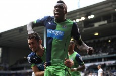 Ameobi scores after just eight seconds of second half to spark Newcastle comeback