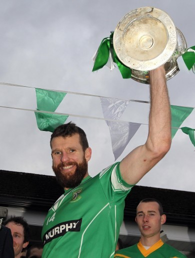 Moorefield ride out early storm to retain Kildare football crown