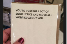 Probably the most useful greeting card we've ever seen