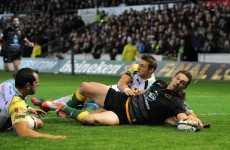 George North's show of power and the other top tries of the weekend
