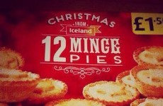 Iceland's Christmas 'minge pies' are going viral... but they're fake