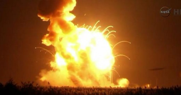 NASA says it is disappointed at launch explosion - but it was just a 'mishap'