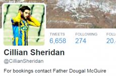 This Irish footballer's 'Fr Dougal' Twitter bio caused a wonderful misunderstanding