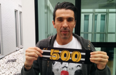 Buffon set to break Serie A appearance milestone this evening