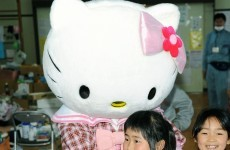 It's the BIG 40 for Hello Kitty today