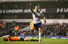 Lamela and Kane put Spurs through to quarter-finals