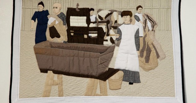 An inmate in Limerick Prison made these Magdalene-inspired quilts