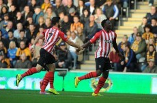 Southampton consolidate second place with victory over Hull
