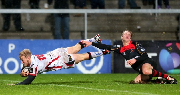 Olding double helps Ulster comfortably overcome Dragons