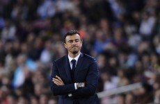 Luis Enrique 'p****d off' after Barcelona defeat