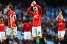 Rooney: Manchester United deserved more in derby