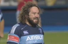 There's no greater joy than Adam Jones' drop goal effort against Munster this weekend