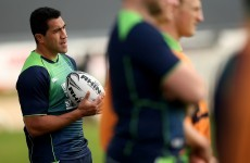 Ex-All Black Muliaina on course for Connacht debut later this month