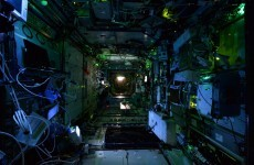 These nighttime photos from the International Space Station look like something out of a horror movie