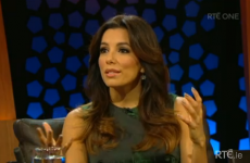 All of Ireland completely fell in love with Eva Longoria on the Late Late last night
