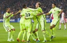 Suarez inspires Barca revival at Almeria