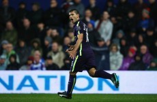 Aguero haunts QPR once more with brace to rescue draw for sloppy City