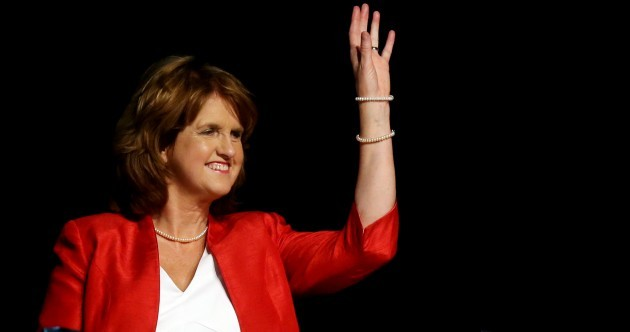 Joan Burton is Woman of the Year