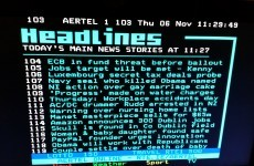 RTÉ Teletext also fell prey to the old Obama-Osama mistake