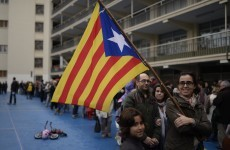 "Catalonia votes for independence, Spain calls the vote ""useless"""