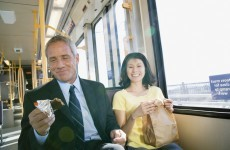 The Burning Question*: Is it ok to eat on public transport?
