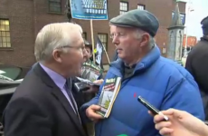 'The dead is the dead' – Dublin's Lord Mayor squares up to Remembrance Day protester