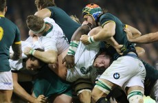 Analysis: Ireland's intelligent maul defence frustrates the Boks