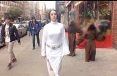 Here's the inevitable Star Wars parody of the catcall video