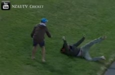 Cricket fan wins €3,000 for making this sliding one-handed catch in his bare feet