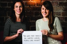 How two students saved enough food for 325,000 meals from the rubbish