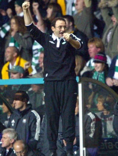 Martin O'Neill knows all about earning historic victories at Celtic Park