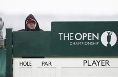 The Open leaderboard, day 2