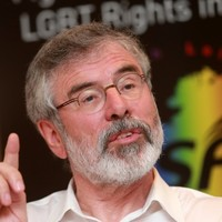 Leo: Gerry Adams has quite an opinion of himself